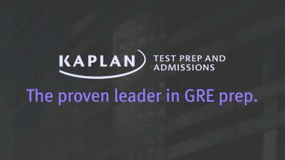 Kaplan: Đơn vị đào tạo GRE hàng đầu thế giới.
