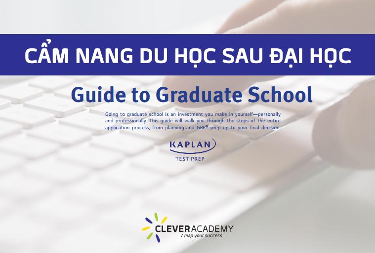 Guide to Graduate School: Cẩm Nang Nhập Học Sau Đại Học