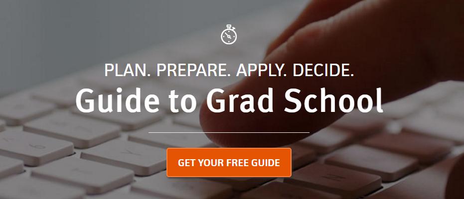 Countdown to Graduate School from Kaplan