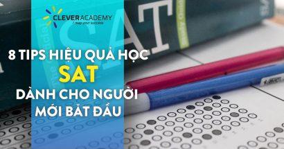 8 tips học SAT dành cho người mới học