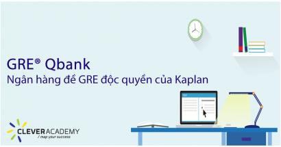 GRE® Qbank: Ngân hàng đề GRE độc quyền của Kaplan