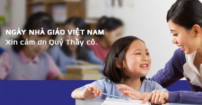 Chúc mừng Ngày Nhà giáo Việt Nam - 20/11/2017