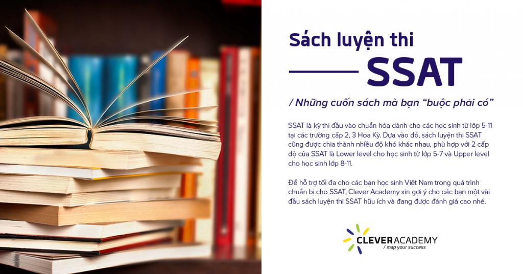 """Những cuốn sách luyện thi SSAT mà bạn """"buộc phải có"""""""