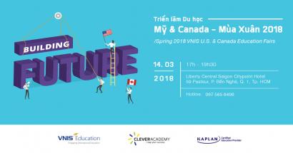 Triển lãm Du học Mỹ & Canada - Xuân 2018 - BUILDING FUTURE