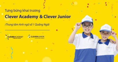 Thông cáo báo chí: Khai trương Clever Academy đầu tiên tại Quảng Ngãi