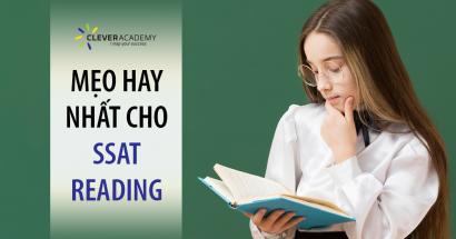 mẹo hay nhất cho SSAT READING
