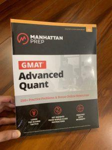 GMAT MANHATTAN ADVANCED QUANT