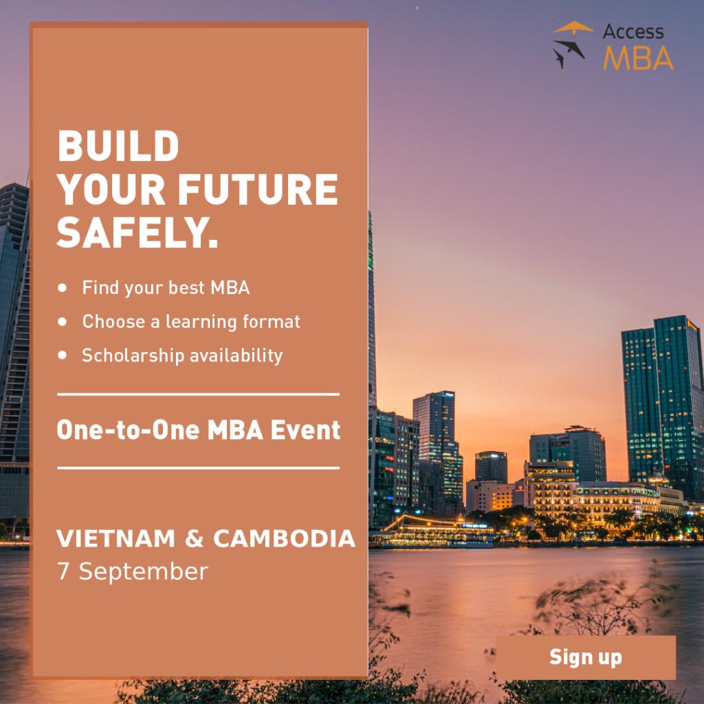 Sự kiện Du học trực tuyến: Access MBA tại Việt Nam (tháng 9/2021)